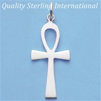 p53 Sterling Ankh Cross
