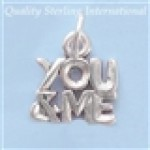 You and Me Silver Charm 609